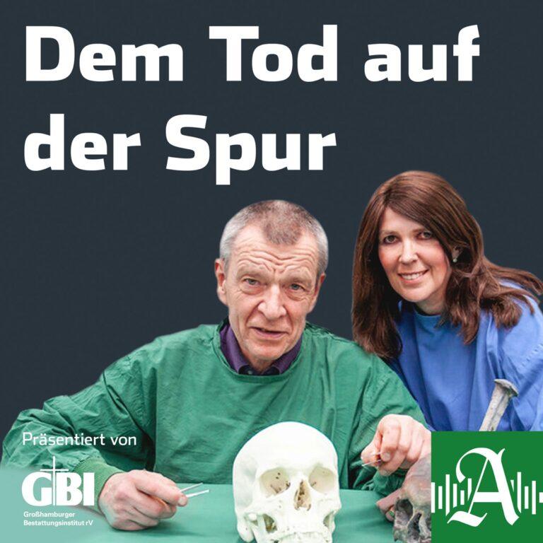 Podcast Dem Tod auf der Spur Cover