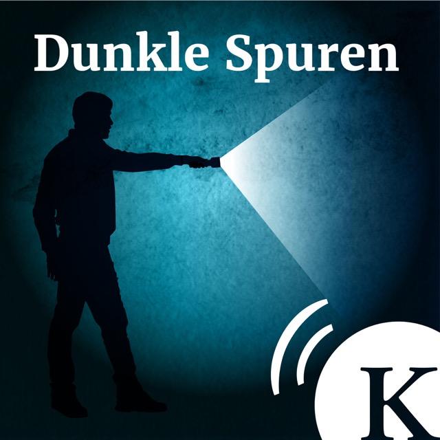 Podcast Dunkle Spuren Cover