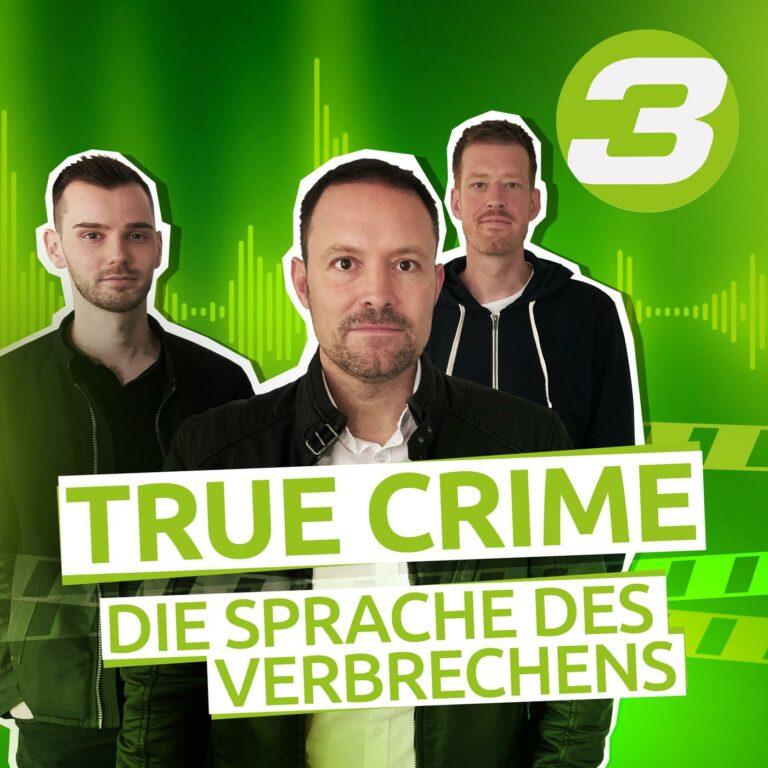 Podcast True Crime – Die Sprache des Verbrechens Cover