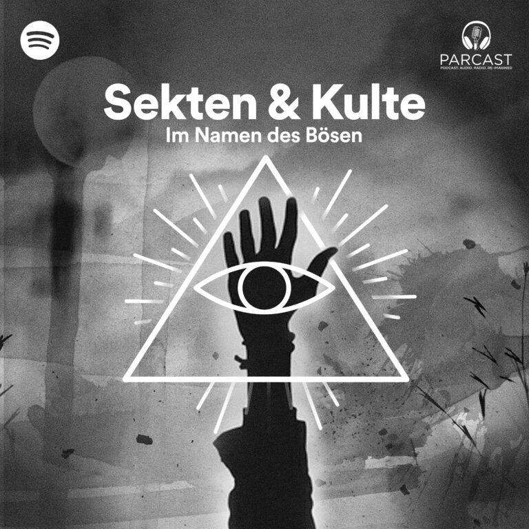 Podcast Sekten & Kulte – Im Namen des Bösen Cover
