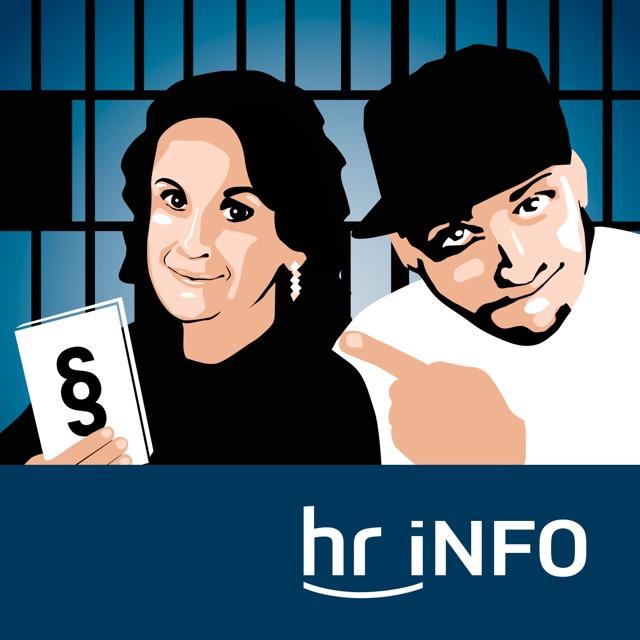 Podcast hr-iNFO Verurteilt! Cover