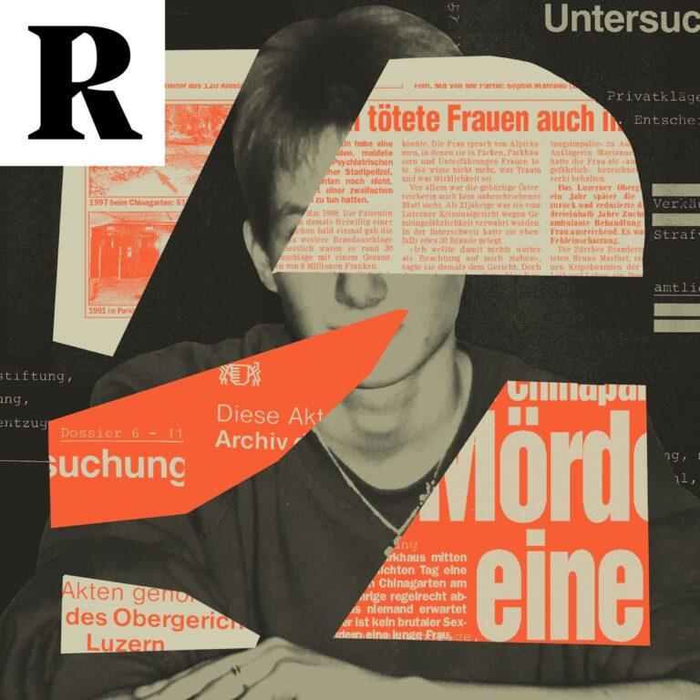 Podcast-Fall Die gefährlichste Frau der Schweiz? Cover