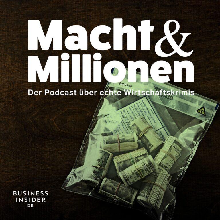 Podcast Macht und Millionen Cover