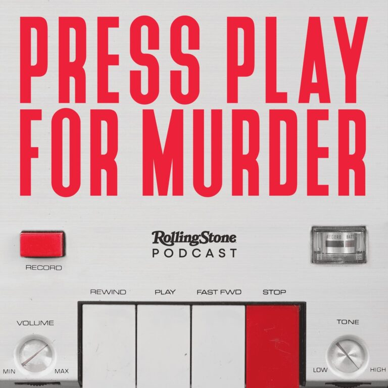 Podcast Press Play For Murder Cover