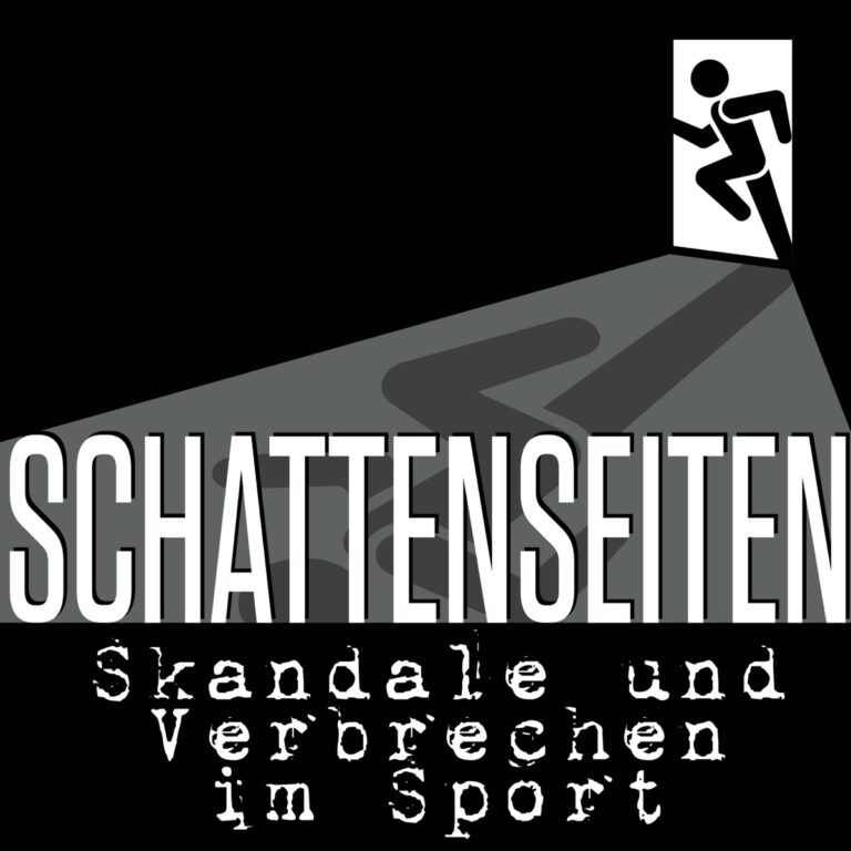 Podcast Schattenseiten – Skandale und Verbrechen im Sport Cover