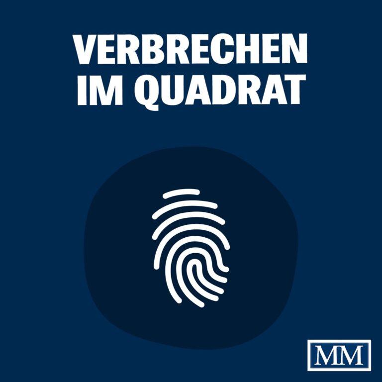 Podcast Verbrechen im Quadrat Cover